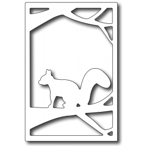 Frantic Stamper - Precision Dies - Framed Squirrel