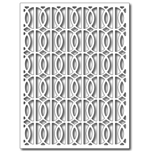 Frantic Stamper - Precision Dies - Interlocking Rings Card Panel