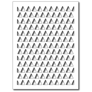 Frantic Stamper - Precision Dies - Triangle Card Panel
