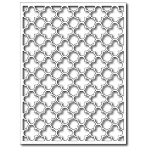 Frantic Stamper Precision Die - Quatrefoil Card Panel