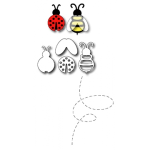 Frantic Stamper Precision Die - Ladybug and Bee (5)