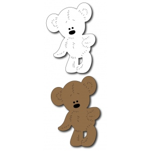 Frantic Stamper  Precision Die - Teddy Bear
