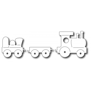 Frantic Stamper Precision Die - Toy Train (set of 3 dies)