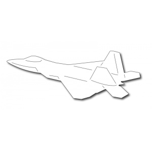 Frantic Stamper Precision Die - F-22 Fighter Jet