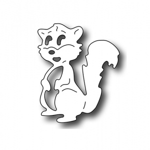 Frantic Stamper Precision Die - Adorable Squirrel