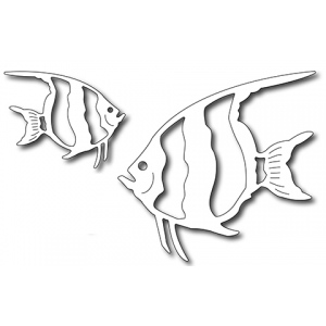 Frantic Stamper Precision Die - Angel Fish (set of 2 dies)