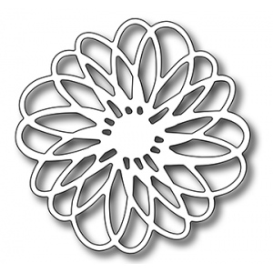 Frantic Stamper Precision Die - Scribble Flower