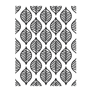 Embossing Folder - Predictable - Bella Collection
