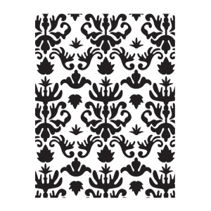 Ultimate Crafts Embossing Folder - Royalty - Bella Collection