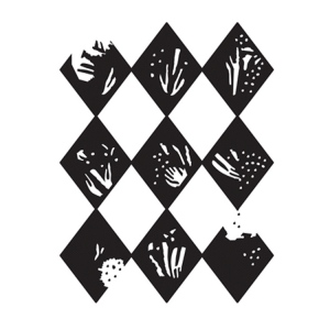 Ultimate Crafts Embossing Folder - Nine Of Diamonds - Allura Collection