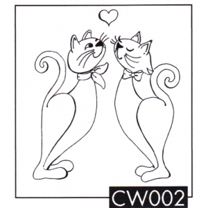 Clear Stamps My Cat World- I love You