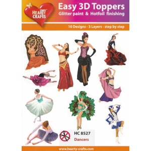 Easy 3-D - Dancers (10 different designs)