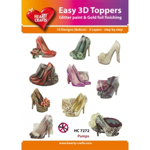 Easy3D Precut Toppers - High heeled shoes