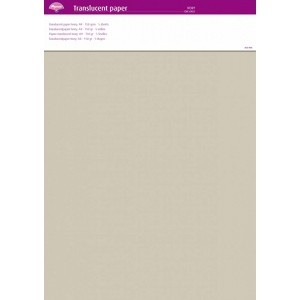 Pergamano Parchment Paper - Ivory (5 Sheets)