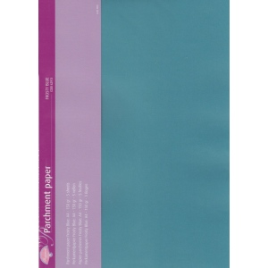 Pergamano Parchment Paper - Frosty Blue (5 Sheets)