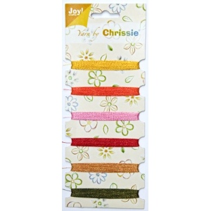 Chrissie Thread Assorted Colors metallic browns, green & blue