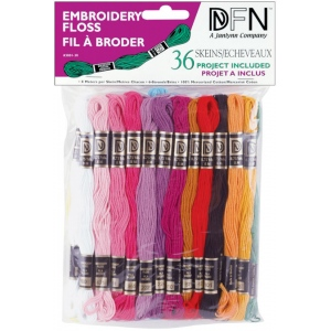 Ecstasy Crafts Embroidery Floss - Pastel