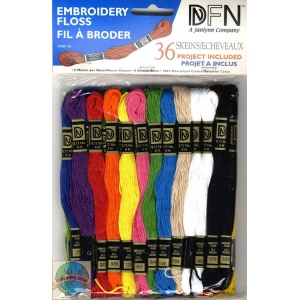 Embroidery Floss - Primary