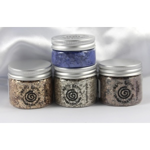 Cosmic Shimmer Mica Flakes: Luna Silver
