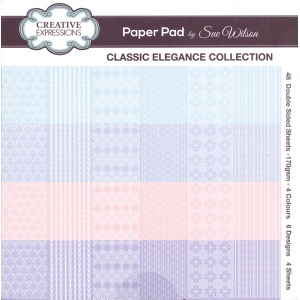 Creative Expressions Classic Elegance Collection - Paper Pad