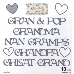 Creative Expressions Phill Martin Sentimentally Yours: From The Heart Collection: Grandparents