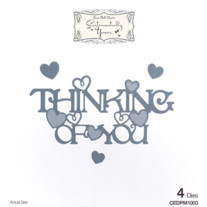 Creative Expressions Phill Martin Sentimentally Yours: From The Heart Collection: Thinking Of You