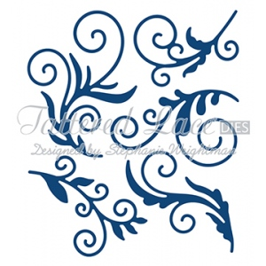 Tattered Lace Dies - Delicate Flourishes