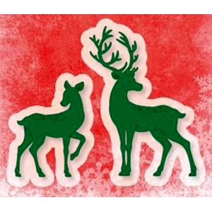 Ecstasy Crafts Cutting And Embossing Die - Deer