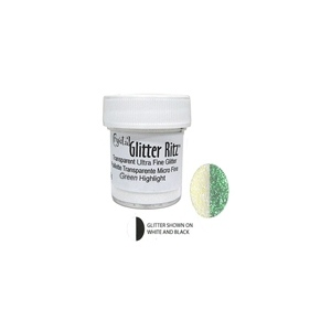 Micro Fine Glitter - Green Highlight (.5 oz)(8g)