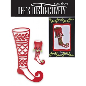 Dee's Distinctively Dies - Stocking 3