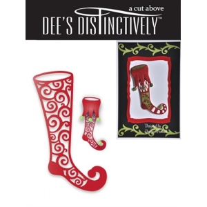 Dee's Distinctively Dies - Stocking 2