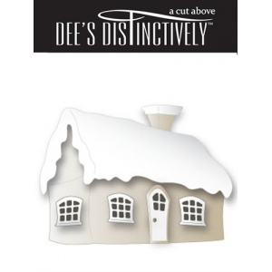 Dee's Distinctively Dies - Sm. Winter Cottage