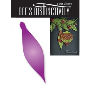 Dee's Distinctively Dies - Icicle Ornament