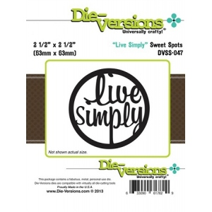 Die Versions - Sweet Spots - Live Simply
