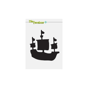 Die-Versions - Sweet Petites - Sailing Ship