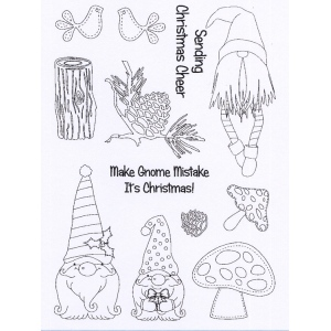Creative Expressions  - Clear Stamp Set - Make Gnome Mistakes