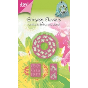 Ecstasy Crafts Joy! Crafts Cutting & Embossing Die -3D Fantasy Wreath