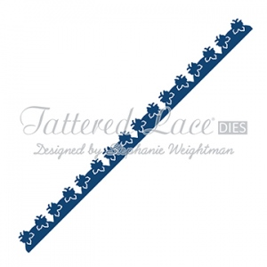 Tattered Lace Die - Scalloped Butterfly Border