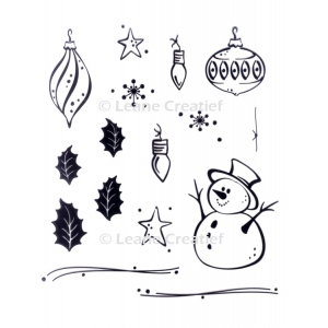 LeCreaDesign® Clear Stamp Holidays
