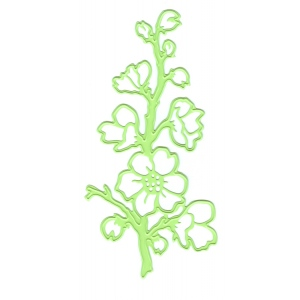 Lea'bilities Embossing and Cutting Die - Flowering sprig