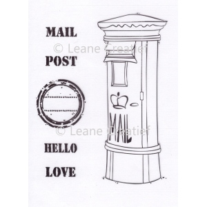 LeCreaDesign® Clear Stamp Mailbox