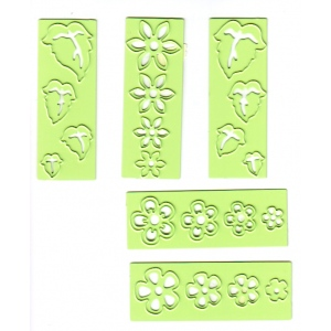 Lea'bilities Small Flowers and Leaves Embossing and Cutting Die