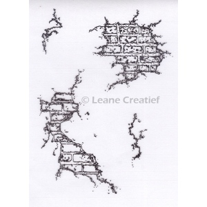 LeCreaDesign® Clear Stamp Wall with Plaster