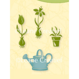 Leane Creatief Lea'bilities Clear Stamp - Garden Flowers