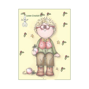 Clear Stamp - Bambini Christmas Boy