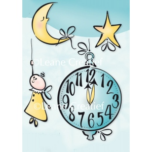 LeCreaDesign® clear stamp Little angel