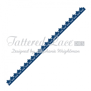 Tattered Lace  Die - Flower Border