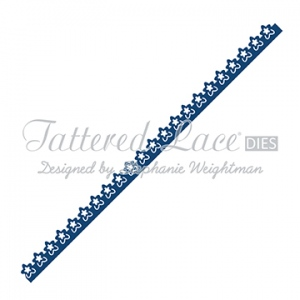 Tattered Lace Die - Delicate Flower Border
