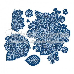 Tattered Lace Die - Charisma Hydrangea with CD-ROM