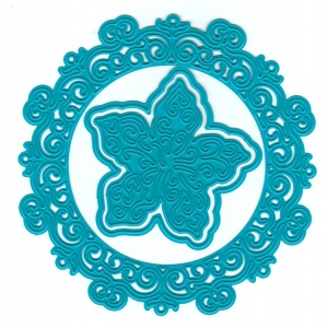 Joy! Crafts Cutting and Embossing Dies - circle flower